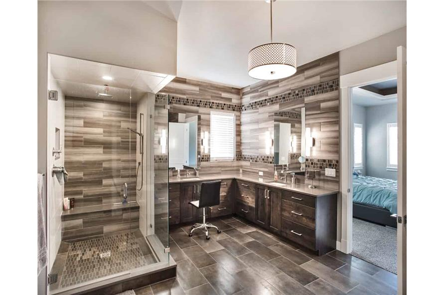 Master Bathroom of this 3-Bedroom,2650 Sq Ft Plan -2650