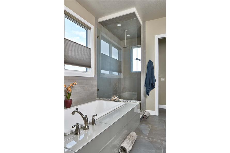 Bathroom of this 3-Bedroom,3548 Sq Ft Plan -161-1123
