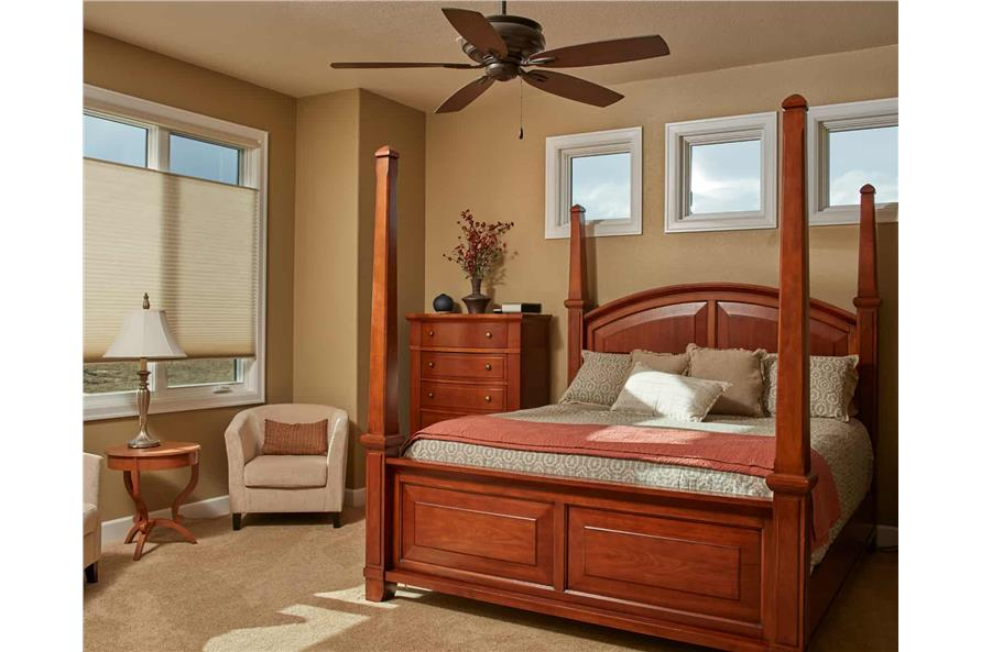 Master Bedroom of this 3-Bedroom,3548 Sq Ft Plan -161-1123