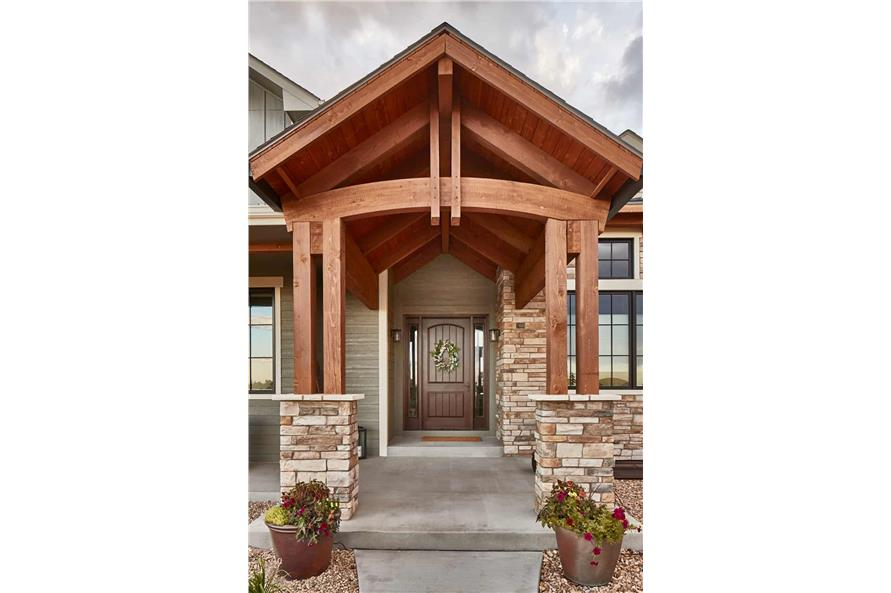 Front View of this 3-Bedroom,3548 Sq Ft Plan -161-1123