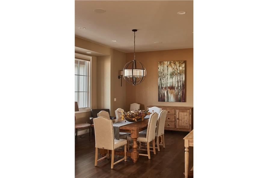 Dining Room of this 3-Bedroom,3548 Sq Ft Plan -161-1123