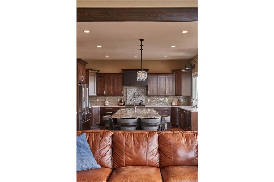 Kitchen of this 3-Bedroom,3548 Sq Ft Plan -161-1123