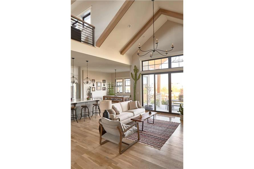 Great Room of this 4-Bedroom,3237 Sq Ft Plan -161-1124