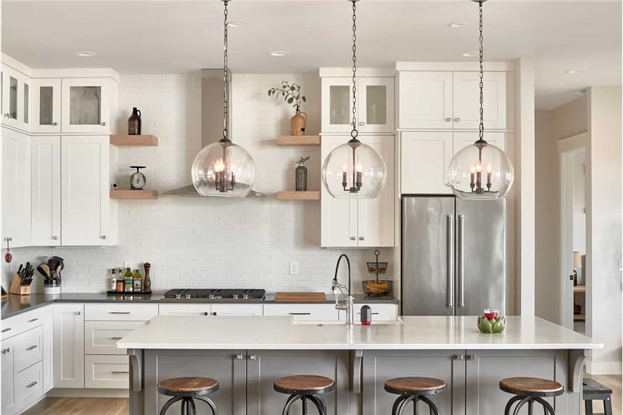 Kitchen: Kitchen Island of this 4-Bedroom,3237 Sq Ft Plan -161-1124