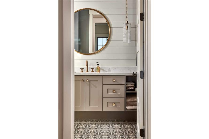 Master Bathroom: Sink/Vanity of this 4-Bedroom,3237 Sq Ft Plan -161-1124