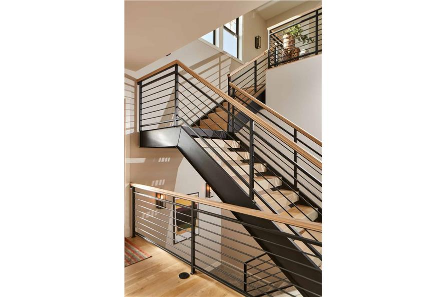 Entry Hall: Staircase of this 4-Bedroom,3237 Sq Ft Plan -161-1124