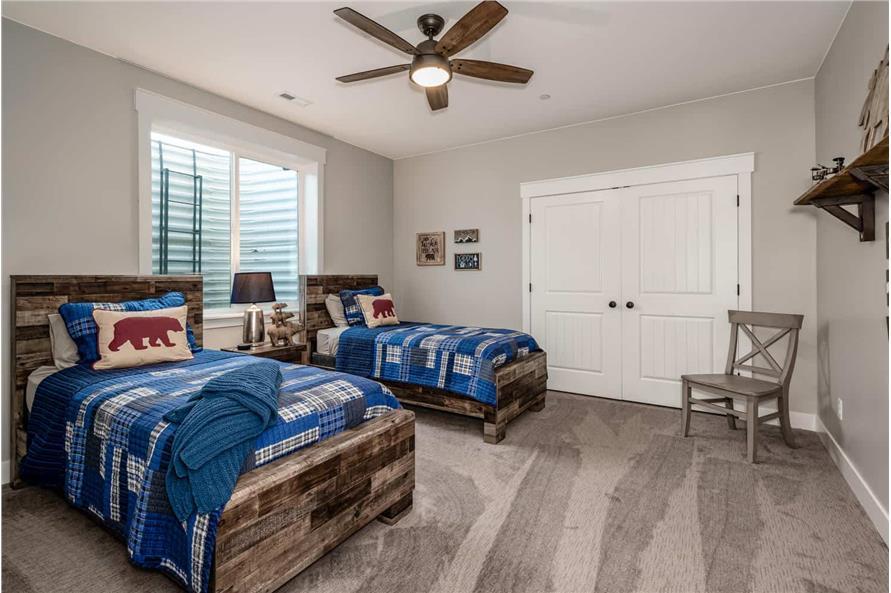 Bedroom of this 1-Bedroom,2744 Sq Ft Plan -161-1126
