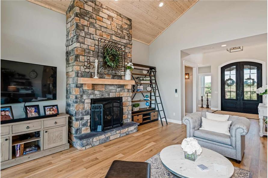 Great Room of this 1-Bedroom,2744 Sq Ft Plan -161-1126