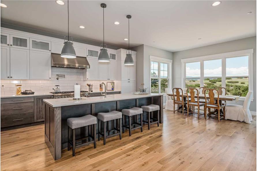 Kitchen: Kitchen Island of this 1-Bedroom,2744 Sq Ft Plan -161-1126
