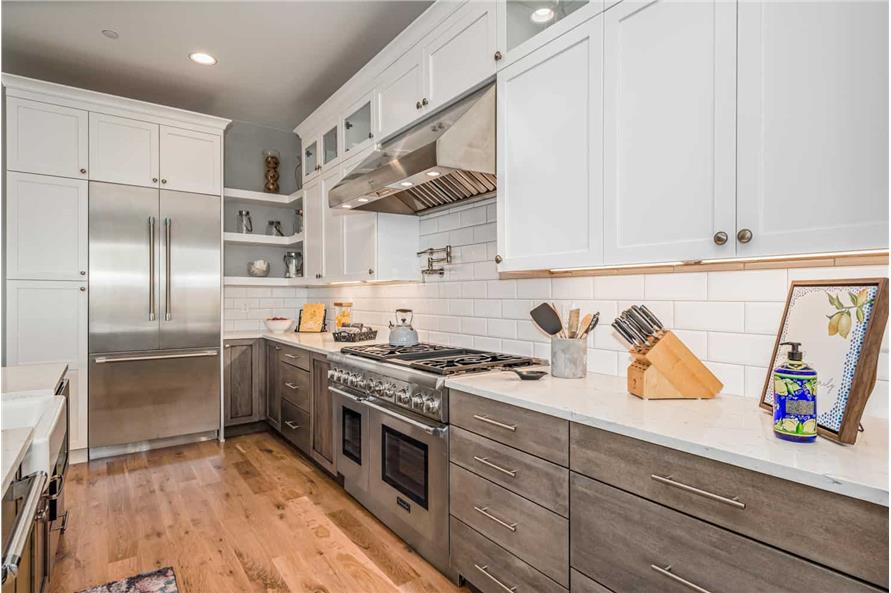 Kitchen of this 1-Bedroom,2744 Sq Ft Plan -161-1126