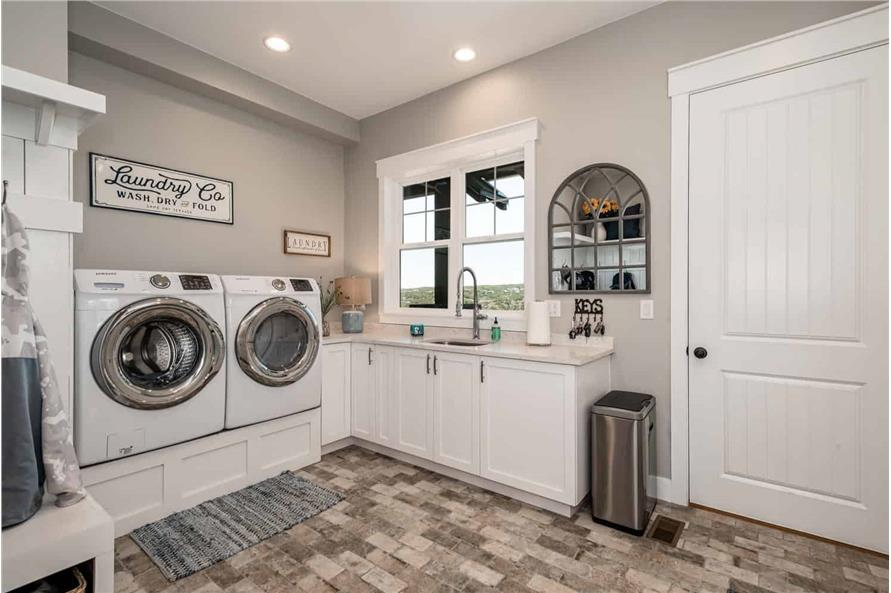 Laundry Room of this 1-Bedroom,2744 Sq Ft Plan -161-1126