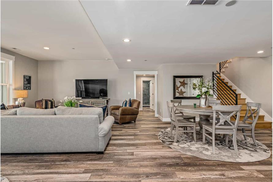 Recreation Room of this 1-Bedroom,2744 Sq Ft Plan -161-1126