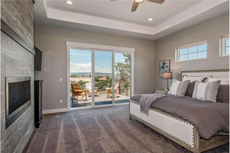 Master Bedroom of this 1-Bedroom,2744 Sq Ft Plan -161-1126