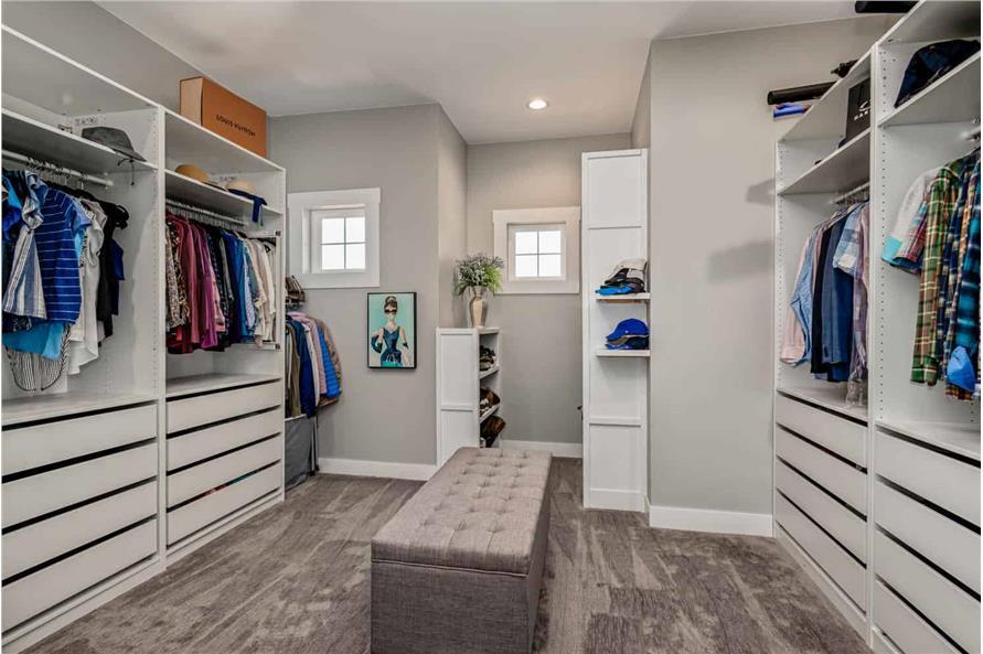 Master Bedroom: Closet of this 1-Bedroom,2744 Sq Ft Plan -161-1126