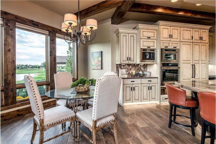 Kitchen: Breakfast Nook of this 2-Bedroom,2861 Sq Ft Plan -161-1127