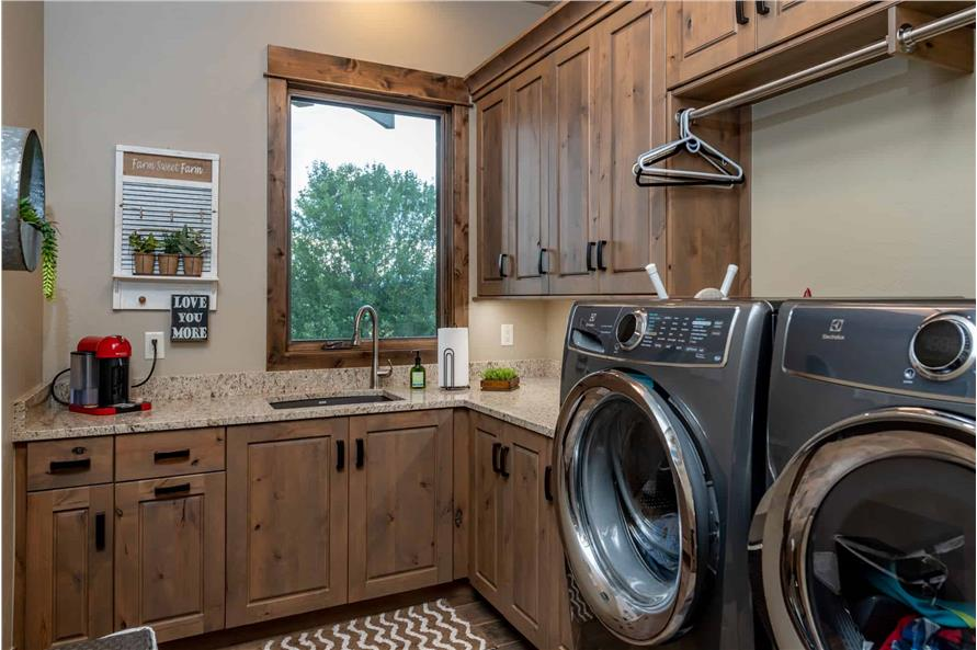 Laundry Room of this 2-Bedroom,2861 Sq Ft Plan -161-1127