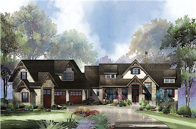 2–4-Bedroom, 2609 Sq Ft Ranch Home - Plan #161-1132 - Main Exterior