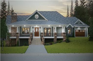 2–4-Bedroom, 2788 Sq Ft Ranch Home - Plan #161-1133 - Main Exterior