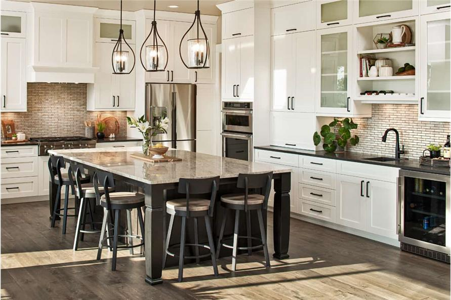 Dining Room of this 3-Bedroom,2925 Sq Ft Plan -161-1135