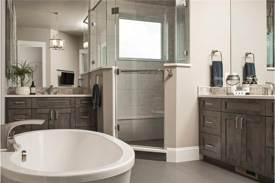 Master Bathroom of this 3-Bedroom,2925 Sq Ft Plan -161-1135