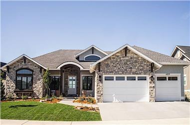 2–4-Bedroom, 2775 Sq Ft Ranch Home - Plan #161-1136 - Main Exterior