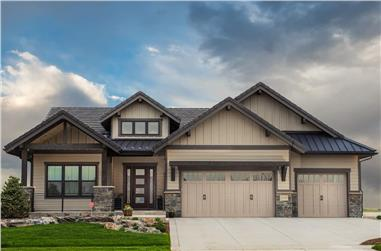 2–4-Bedroom, 2251 Sq Ft Ranch Home - Plan #161-1137 - Main Exterior