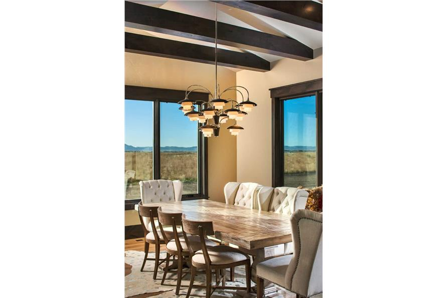 Dining Room of this 2-Bedroom,3071 Sq Ft Plan -161-1139