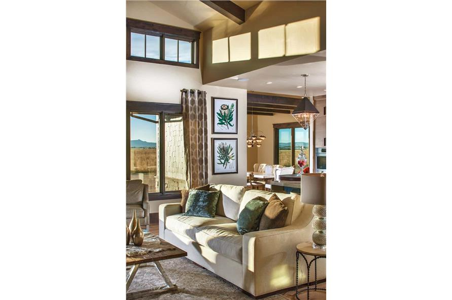 Great Room of this 2-Bedroom,3071 Sq Ft Plan -161-1139