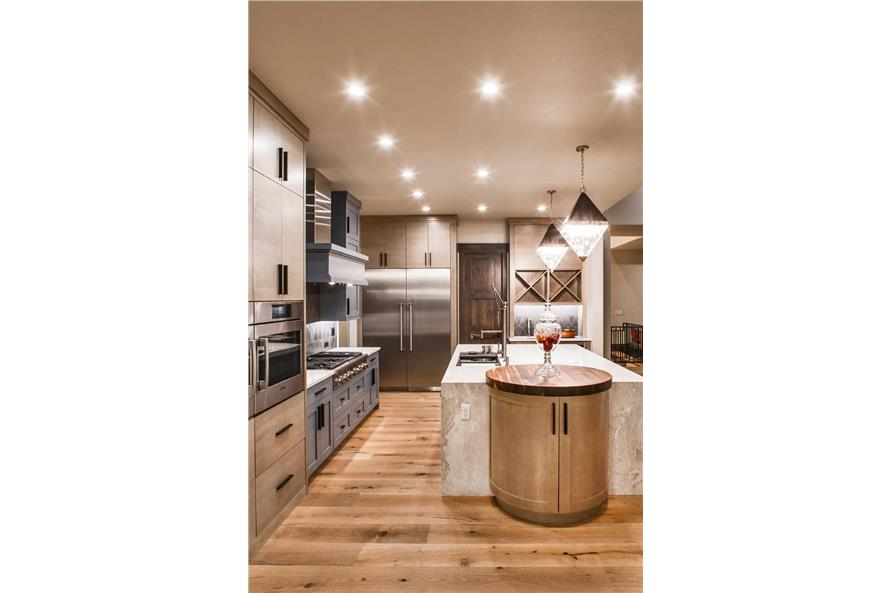 Kitchen: Kitchen Island of this 2-Bedroom,3071 Sq Ft Plan -161-1139