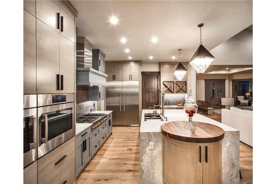 Kitchen of this 2-Bedroom,3071 Sq Ft Plan -161-1139