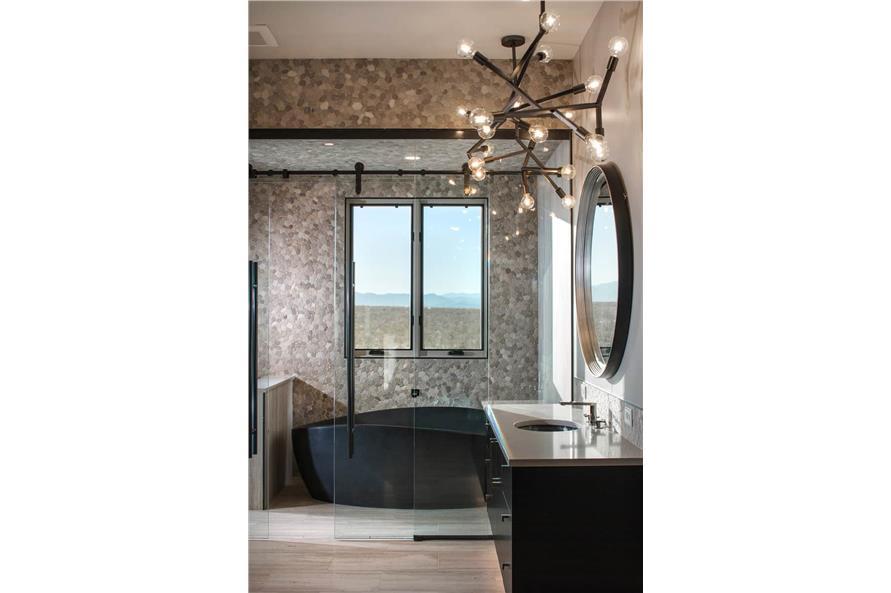 Master Bathroom: Tub of this 2-Bedroom,3071 Sq Ft Plan -161-1139