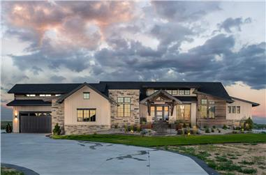 3–6-Bedroom, 2970–4984 Sq Ft Ranch House - Plan #161-1143 - Front Exterior