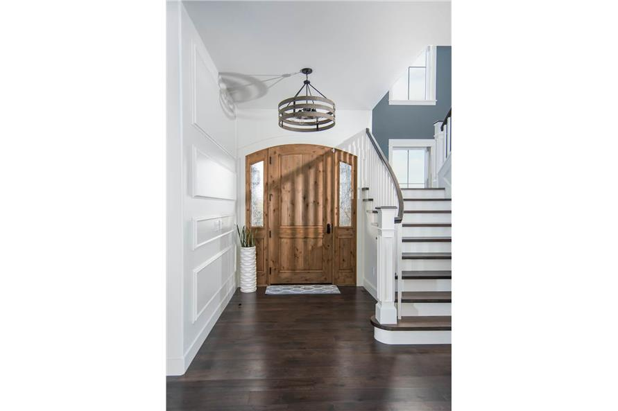 Entry Hall: Foyer of this 4-Bedroom,3907 Sq Ft Plan -161-1145