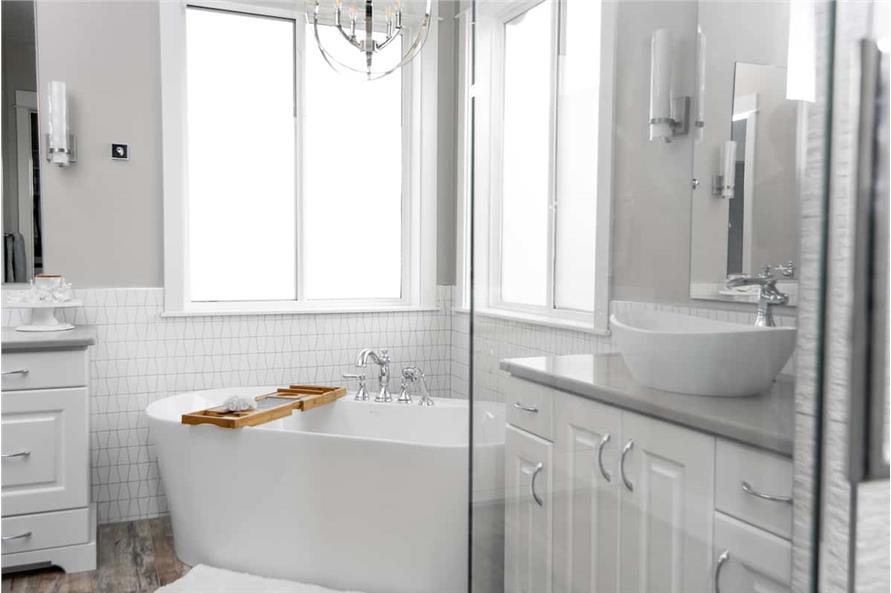 Master Bathroom: Tub of this 4-Bedroom,3907 Sq Ft Plan -161-1145