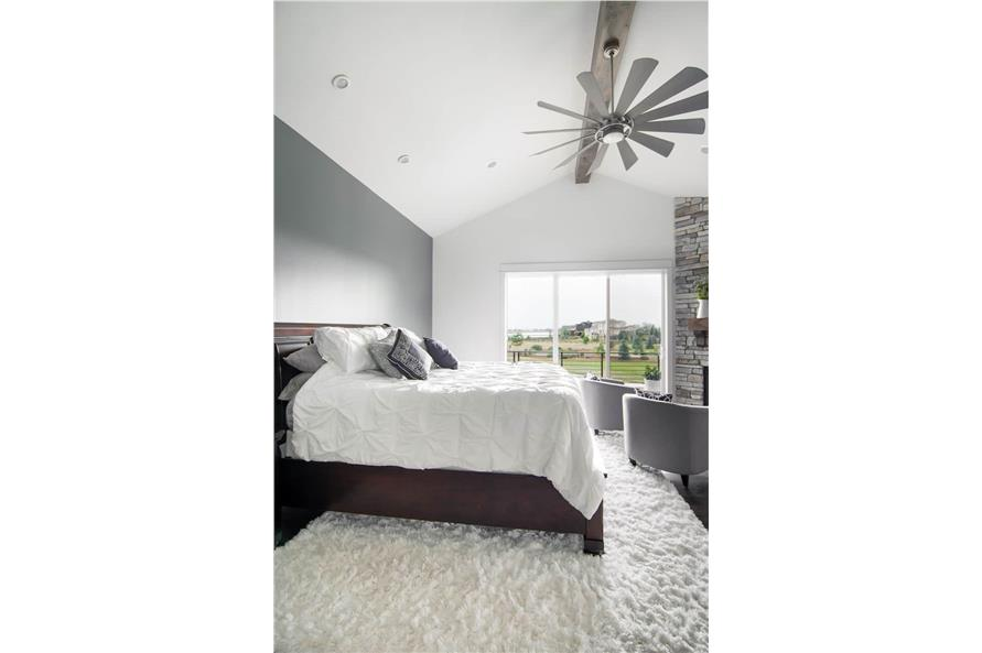 Master Bedroom of this 4-Bedroom,3907 Sq Ft Plan -161-1145