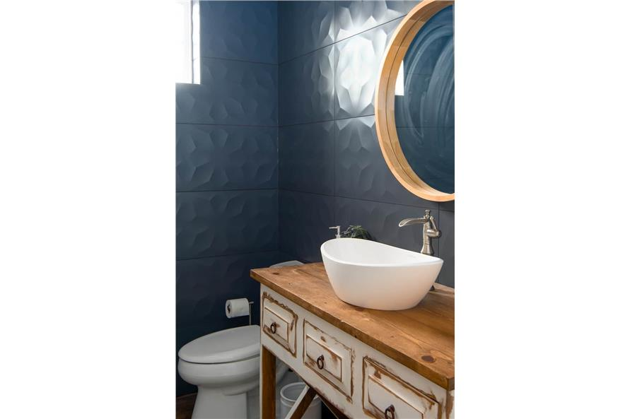Powder Room of this 4-Bedroom,3907 Sq Ft Plan -161-1145