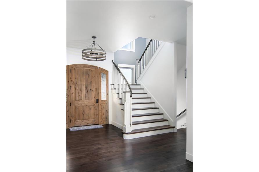 Stairs of this 4-Bedroom,3907 Sq Ft Plan -161-1145
