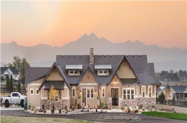 2–4-Bedroom, 2889–4850 Sq Ft Ranch Home - Plan #161-1147 - Main Exterior