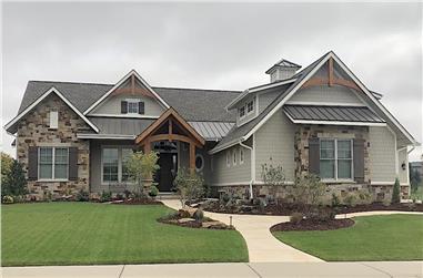 2–4-Bedroom, 2627–4250 Sq Ft Rustic Ranch Home - Plan #161-1150 - Main Exterior