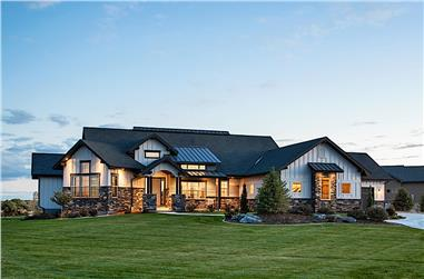 2–5-Bedroom, 2767–5026 Sq Ft Ranch House - Plan #161-1154 - Front Exterior