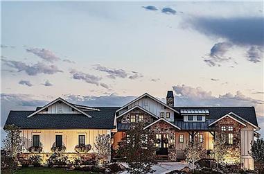 3-Bedroom, 2984 Sq Ft Ranch Home - Plan #161-1159 - Main Exterior