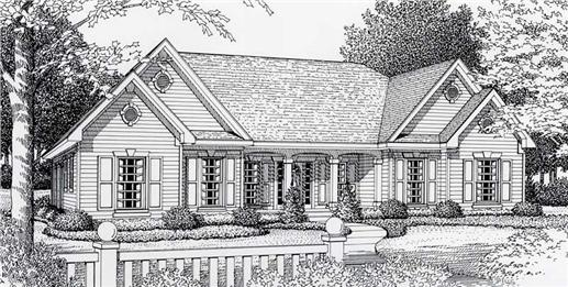 Main image for house plan # 18525