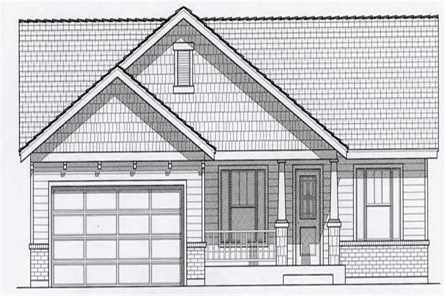 Main image for house plan # 18496