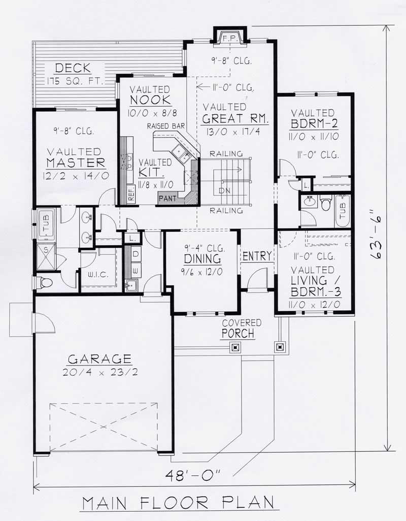 Craftsman house plans home design rdi 1634r1 b 18496 for 162 plan