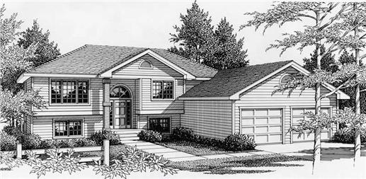 Main image for house plan # 18434