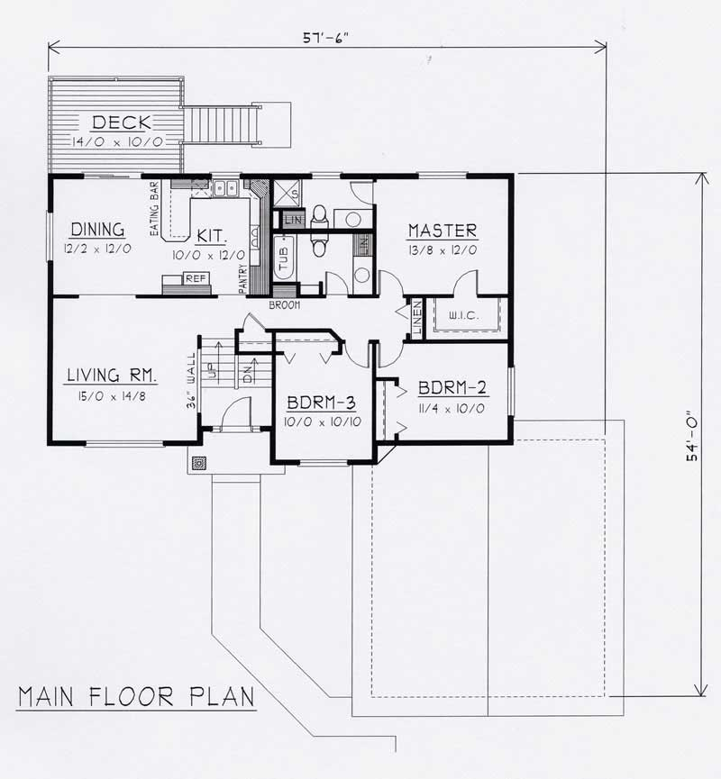 Traditional house plans home design rdi 1356se1 b 18434 for 162 plan