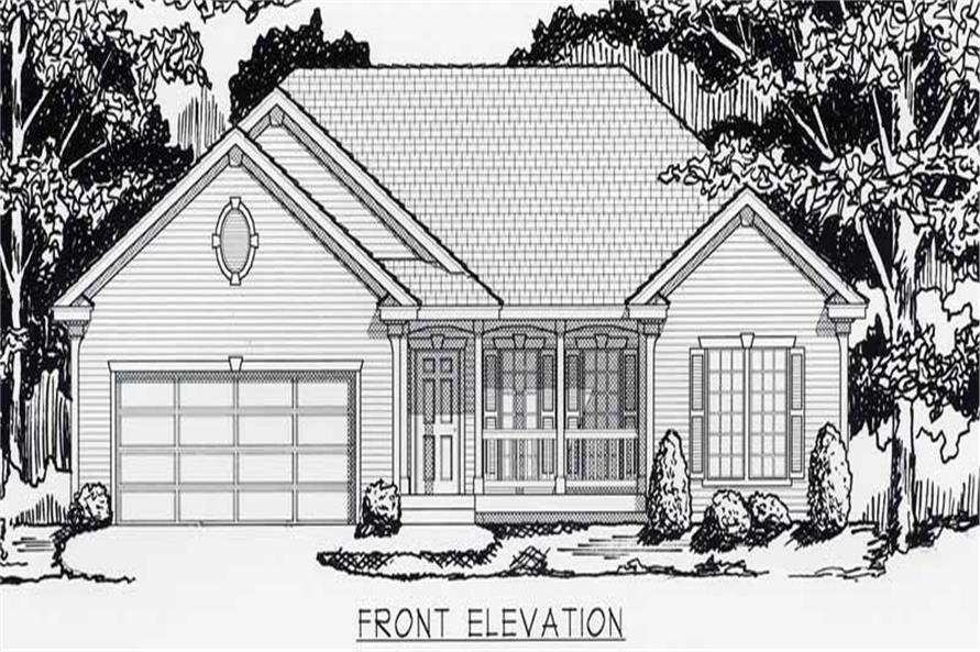 Main image for house plan # 18441
