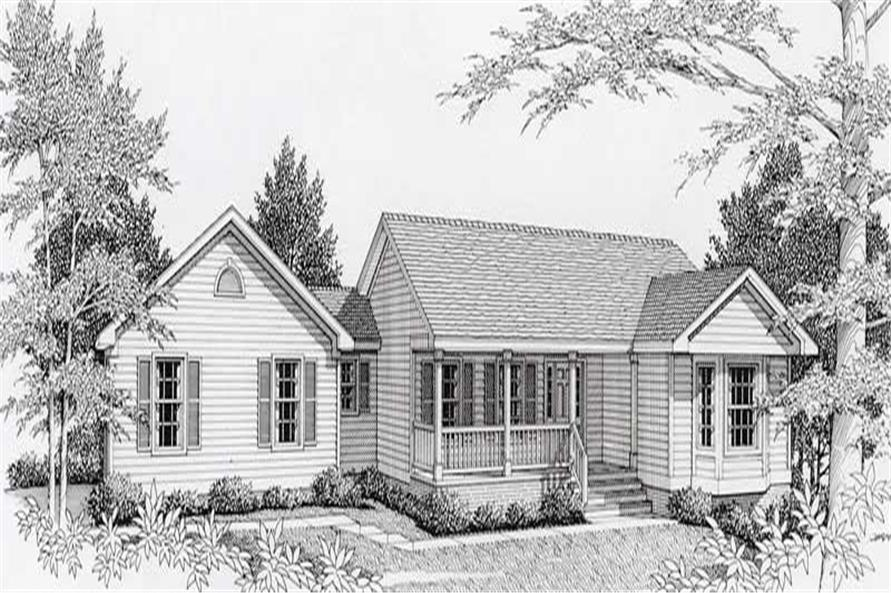 Main image for house plan # 18451