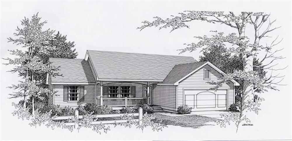 Main image for house plan # 18467