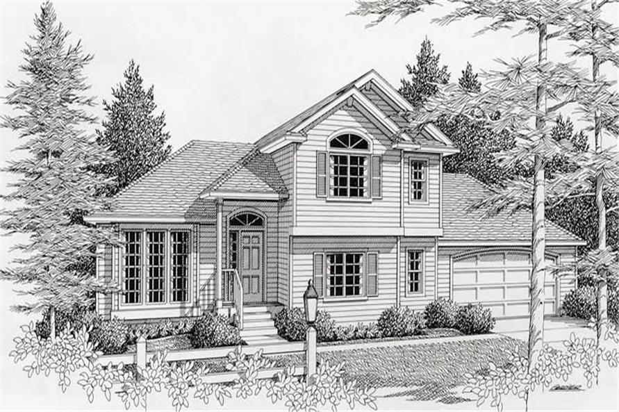 Main image for house plan # 18517